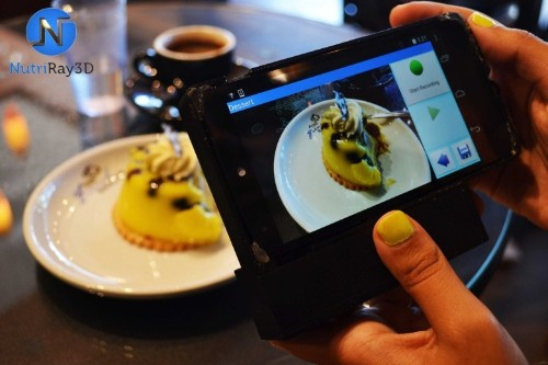 3D scanner will let you count food calories with your iPhone