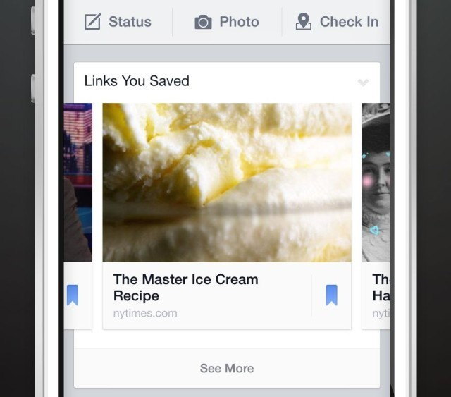 Facebook rolling out Save, its own take on Pocket and Instapaper