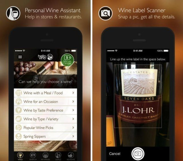 Heard it through the grape vine: Personal wine assistant app gets sparkling update