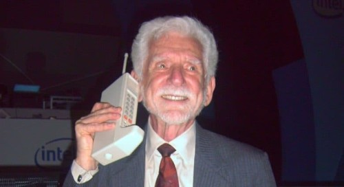 First mobile phone call made 45 years ago today