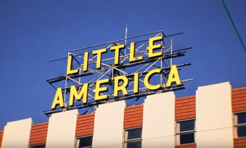 All 8 episodes of Little America now streaming on Apple TV+