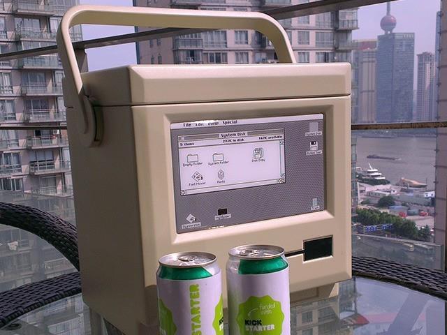 MaCool Beer Cooler Looks Like A Vintage Mac [Kickstarter]