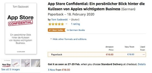 Streisand effect drives book Apple tried to ban to no. 1 on Amazon