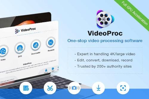 Get 75% off a VideoProc GPU-accelerated video editing software lifetime license | Cult of Mac