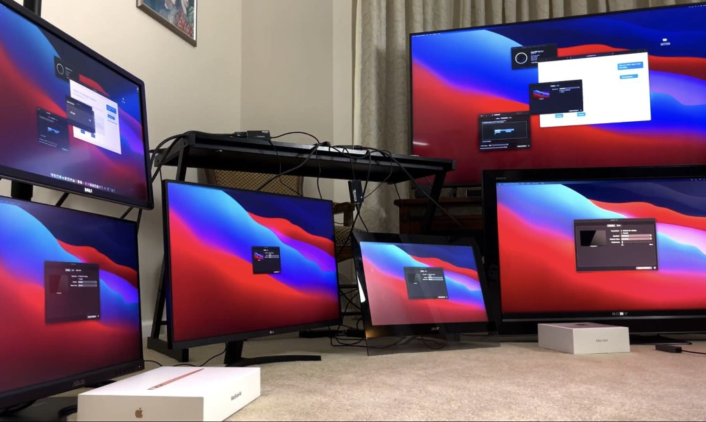 M1 Mac trick lets you use up to 6 external displays at once