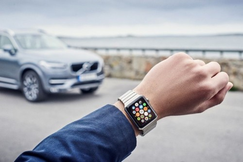 Apple Watch will be able to control your Volvo in no time