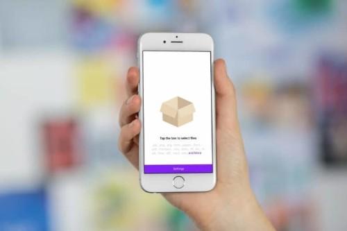 How to zip files in iOS 11's Files app