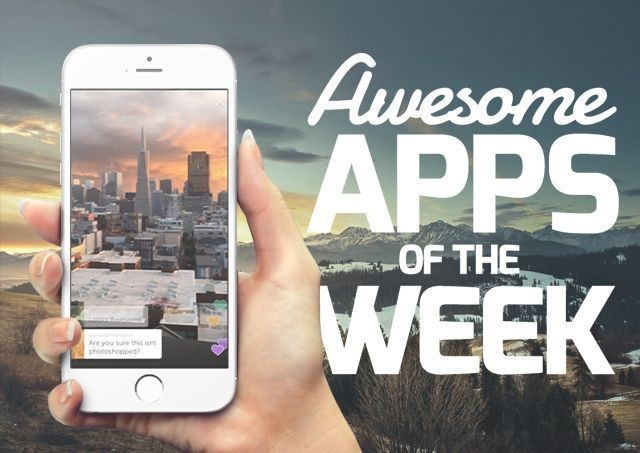 The most awesome new apps you might have missed this week