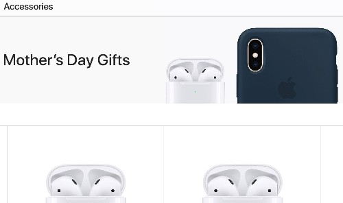 Apple highlights accessories in its 2019 Mother's Day gift guide
