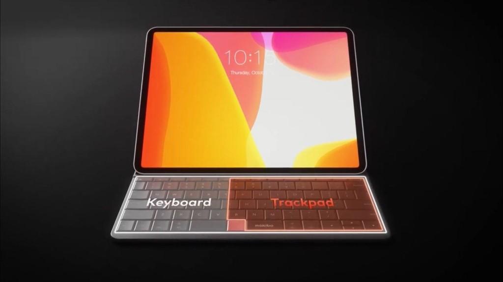 Mokibo merges iPad trackpad into keyboard for maximum portability
