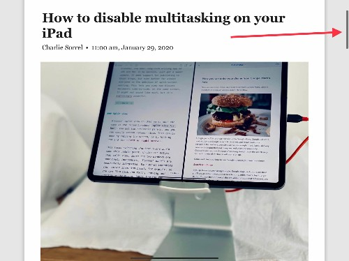 How to use scroll-bar scrubbing on iPadOS and iOS 13