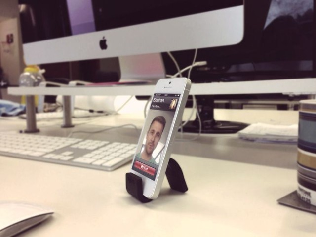 Gumstick Is (Literally) The Most Flexible iPhone Stand Ever