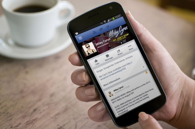 Facebook Working On New VIP App Strictly For Celebs [Rumor]
