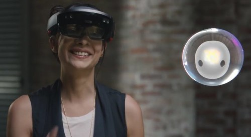 Microsoft's crazy HoloLens ad reveals our cyborg futures