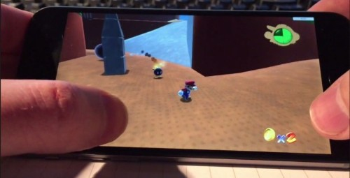 Here's what Super Mario 64 looks like running on an iPhone 6