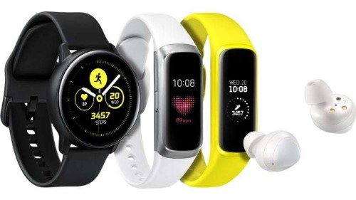 Samsung steps up fitness game with two new wearables