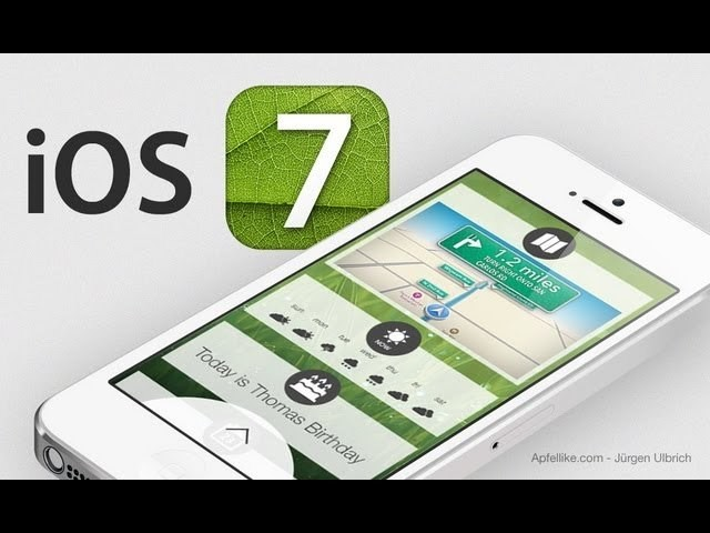 What If iOS 7 Was More Like Google Now? [Concept Video]
