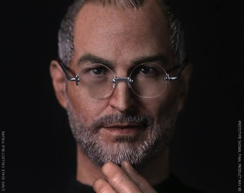 Crazy realistic Steve Jobs action figure lets you stage your own Stevenotes