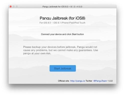 Pangu iOS 8 jailbreak now available for Mac