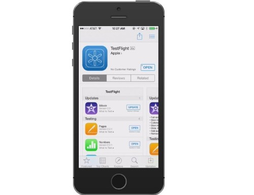 Apple's official version of TestFlight lands on the App Store