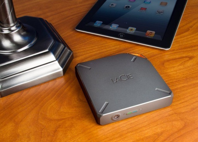 LaCie's New Storage Lineup Includes Wireless 1TB 'Fuel' Hard Drive For iPad [CES 2014]