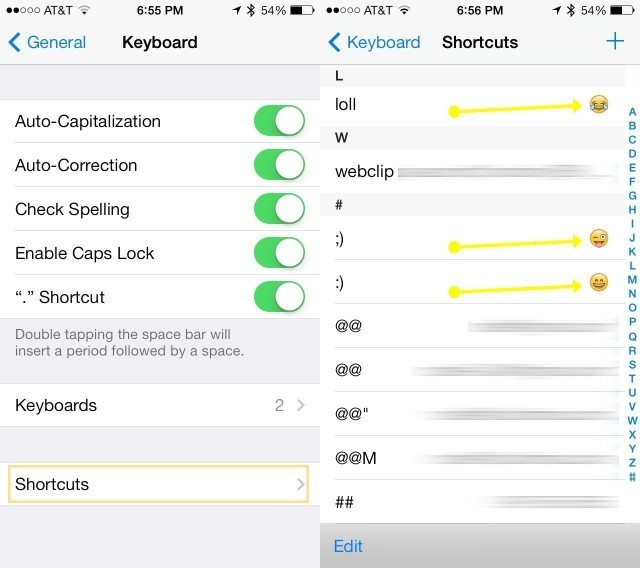 How To Replace Text Emoticons With Emoji [iOS Tips]
