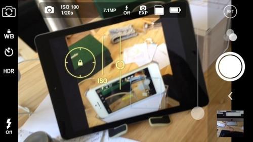 ProCam brings iOS 8's manual camera controls into focus