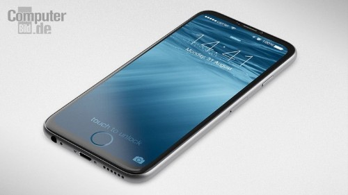 iPhone 7 concept features a home button built into the screen