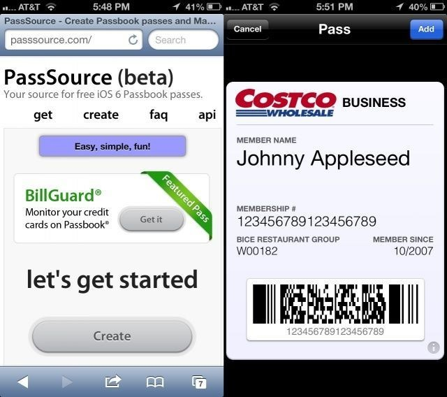 Add Unsupported Passes, Cards, And Tickets To Passbook [iOS Tips]