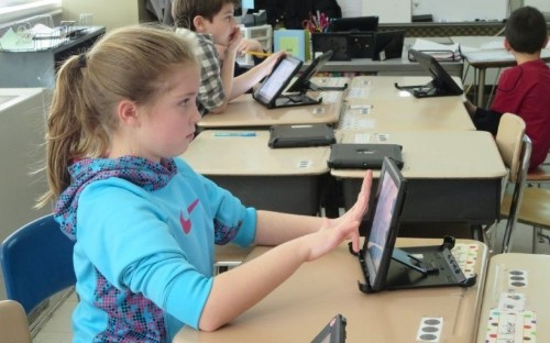 Kids in one New York school spend 75% of the day on iPads