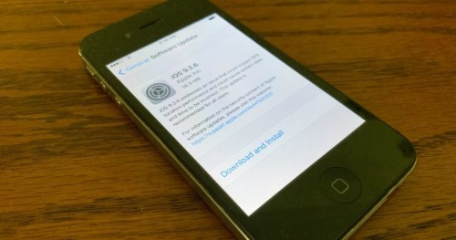 iPhone 4s and older models get fresh iOS update