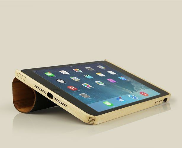 Gorgeous Grove Maple And Bamboo Cases For New iPads
