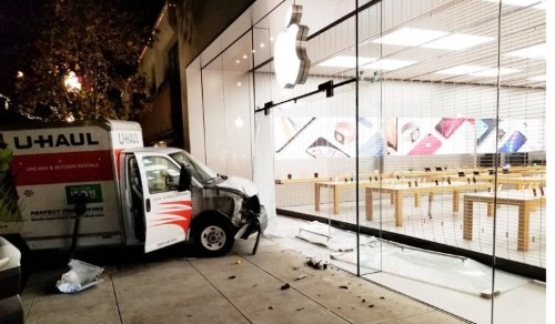 How not to burglarize an Apple Store