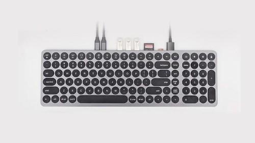 Keyhub keyboard does double duty as 9-port USB-C hub | Cult of Mac