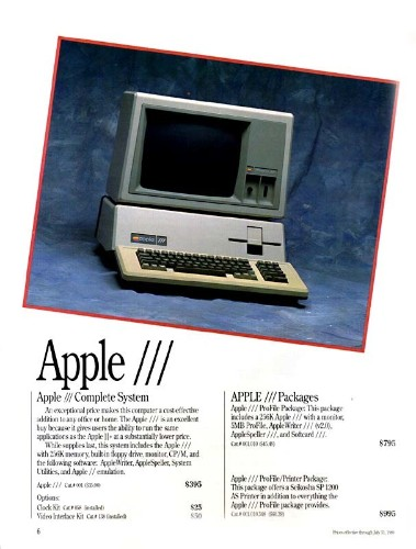 Today in Apple history: Apple introduces the doomed Apple III