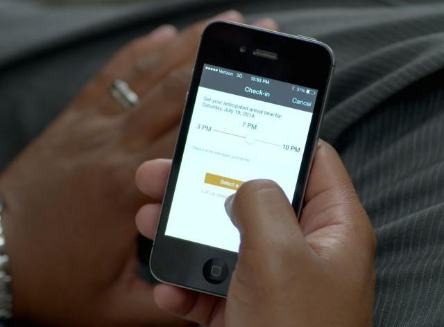 Hilton Hotels turn iPhones into room keys
