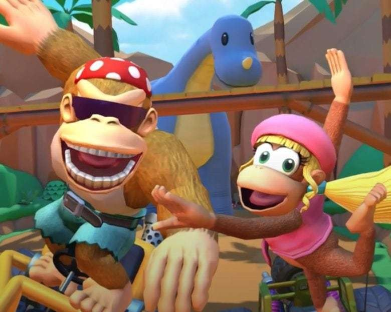 Mario Kart Tour adds Dixie and Funky Kong for new Jungle Tour