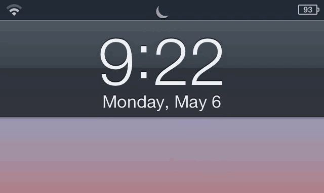 Luna Enables 'Do Not Disturb' With A Quick Swipe On The iPhone's Lockscreen [Jailbreak]