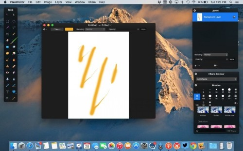 Pixelmator integrates with new MacBook's Force Touch trackpad