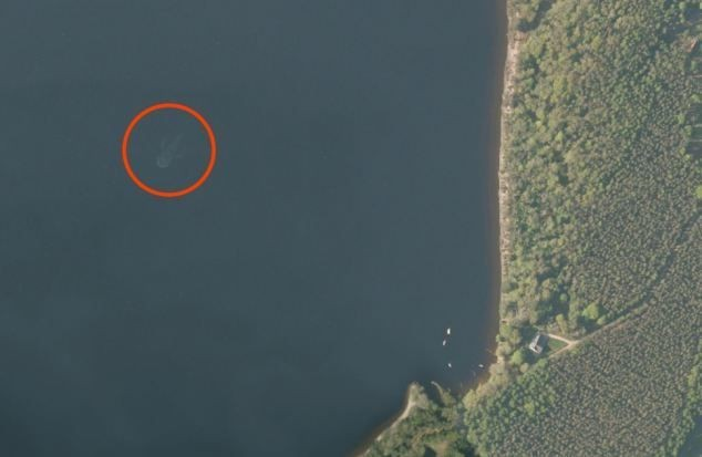 Did Apple Maps Just Prove The Existence Of The Loch Ness Monster?