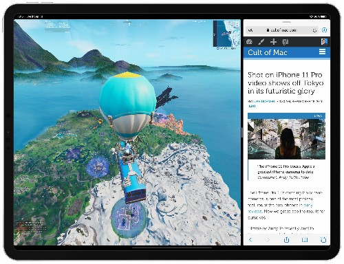 Fortnite update adds new Party Hub, Split View support on iPad