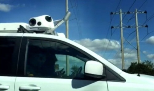 Mysterious Apple minivans are mapping vehicles, experts say