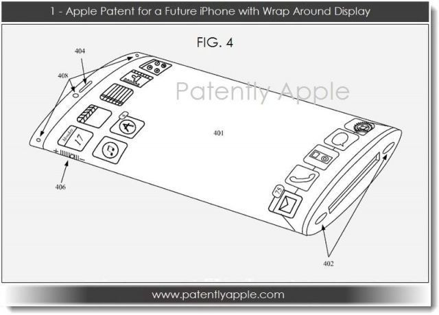 Apple Patents Futuristic iPhone With Flexible, Wraparound Display