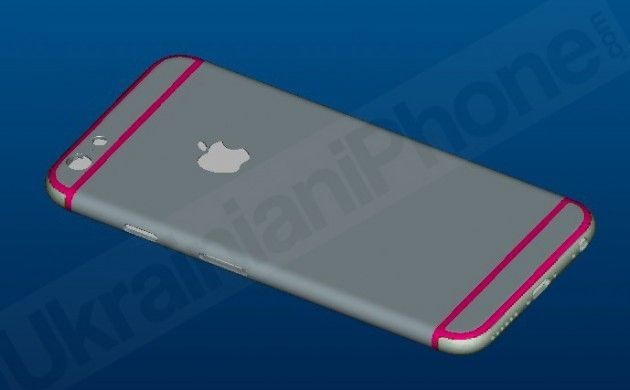 Latest iPhone 6 renderings show rear antenna cutouts