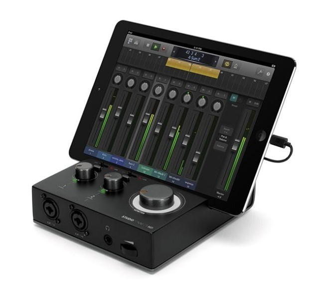 Griffin StudioConnect HD Turns Your iPad Into A Multitrack Recording Studio [CES 2014]