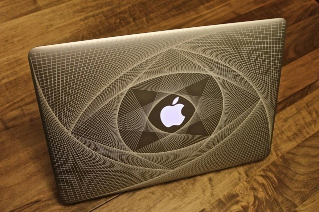 The Most Trippy MacBook Engraving You've Ever Seen
