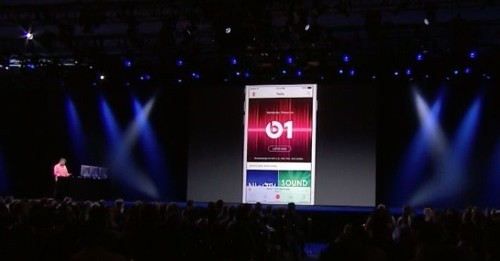 You'll be able to download songs for offline listening with Apple Music
