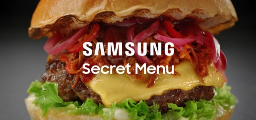Buy a Samsung to access 'secret menus' in top restaurants