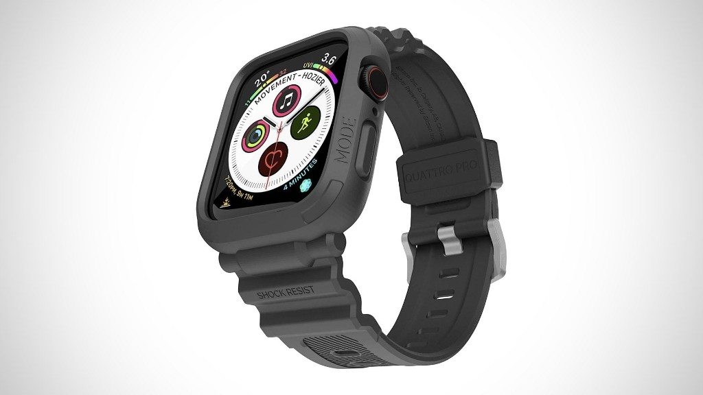 Brilliant Elkson Quattro Pro gives Apple Watch ample protection | Cult of Mac