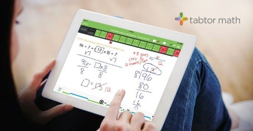 iPad math app comes with real human tutor